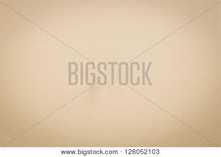 Brown paper in vintage taken as background