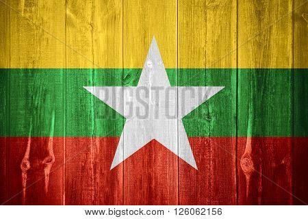 Flag Of Burma, Mynamar