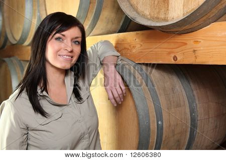 Portrait of a winegrower