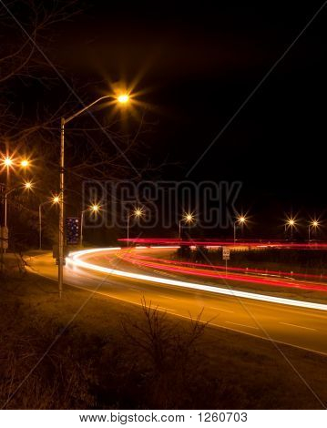 Night Freeway