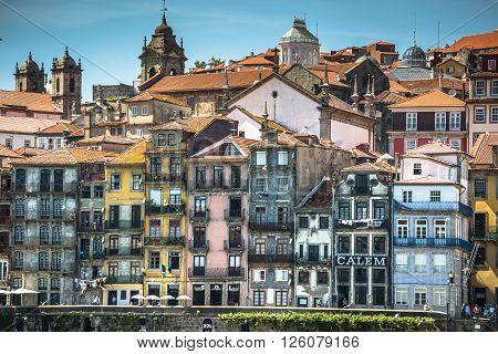 Porto Portugal -21 May 2015:The historic centre of Porto was declared a World Heritage Site by UNESCO in 1996