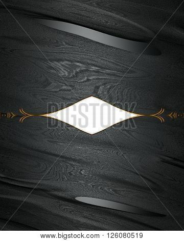 Abstract Black Background With Grunge Decoration. Template For Design. Copy Space For Ad Brochure Or