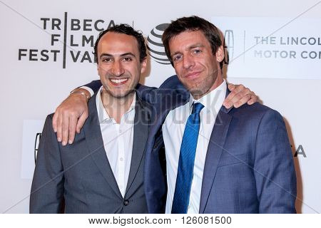 NEW YORK, NY - APRIL 16:  Producer Stefan Nowicki and Joey Carey attend 'Youth In Oregon' Premiere - 2016 Tribeca Film Festival at John Zuccotti Theater  on April 16, 2016 in New York City
