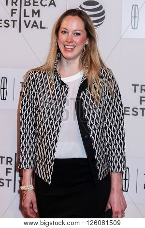 NEW YORK, NY - APRIL 16:  Lindsay Schmidt attend 'Youth In Oregon' Premiere - 2016 Tribeca Film Festival  at BMCC Tribeca Performing Arts Center on April 16, 2016 in New York City
