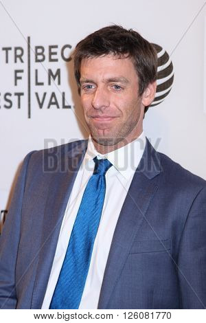 NEW YORK, NY - APRIL 16: Producer Stefan Nowick  at 'Youth In Oregon' Premiere - 2016 Tribeca Film Festival a Tribeca Performing Arts Center on April 16, 2016 in New York City