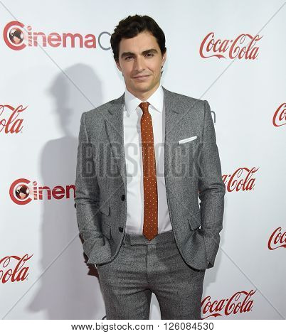 LOS ANGELES - APR 14: Dave Franco arrives to the Cinema Con 2016: Awards Gala on April 14, 2016 in Las Vegas, NV.