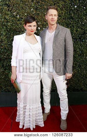 Josh Dallas and Ginnifer Goodwin at the John Varvatos 13th Annual Stuart House Benefit held at the John Varvatos in West Hollywood, USA on April 17, 2016.