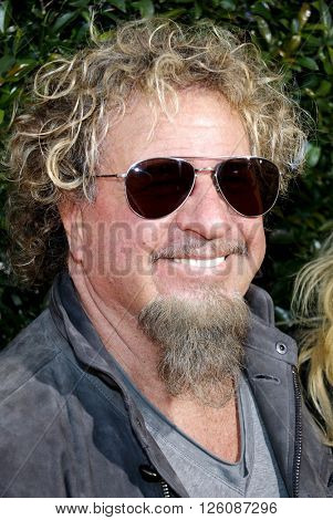 Sammy Hagar at the John Varvatos 13th Annual Stuart House Benefit held at the John Varvatos in West Hollywood, USA on April 17, 2016.