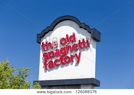 The Old Spaghetti Factory Sign And Logo