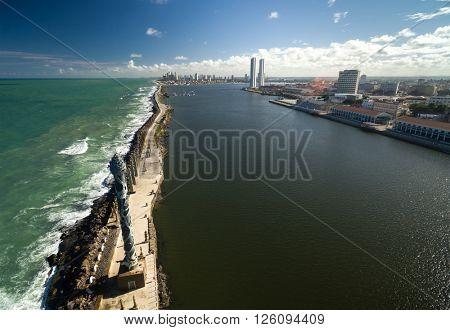 Recife coast, state of Pernambuco, Brazil