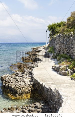 Path At The Seaside