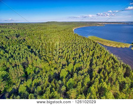Karelia Landscape Aerial