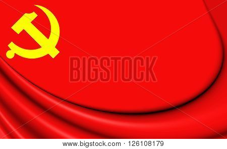 Flag Of Chinese Communist Party