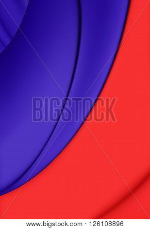 Flag Of Paris, France.