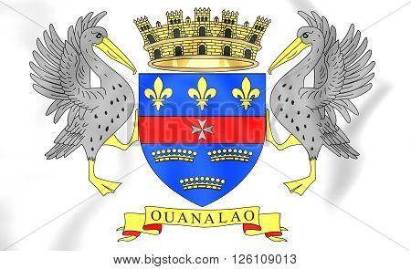 Flag Of Saint-barthelemy