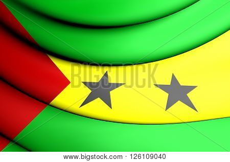 Flag Of The Sao Tome And Principe