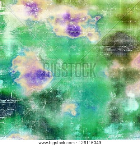 Cute colorful grunge texture or tinted vintage background. With different color patterns: yellow (beige); brown; green; blue; cyan
