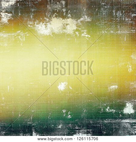 Colorful grunge background, tinted vintage style texture. With different color patterns: yellow (beige); brown; gray; green; white
