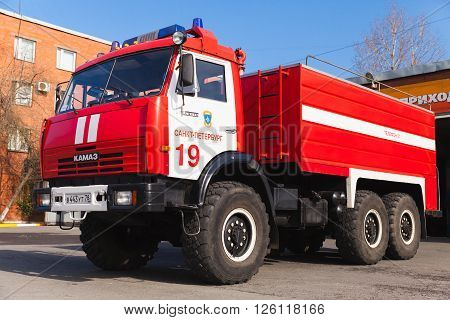 Kamaz 43253, Modern  Russian Fire Truck