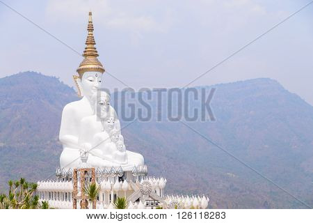 Wat Pha Sorn Kaew also known as Wat Phra That Pha Kaew is a Buddhist monastery and temple in Khao Kho district Phetchabun Thailand.
