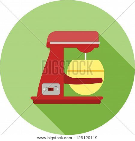 Mixer, bakery, dough icon vector image. Can also be used for bakery. Suitable for use on web apps, mobile apps and print media.
