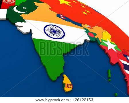 India On Political Map