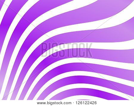 lila Background with wave pattern in diff. Colors