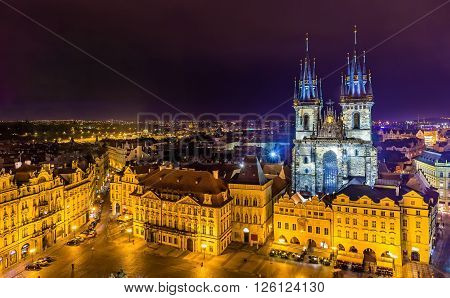 Church of Our Lady before Tyn in Prague - Czech Republic