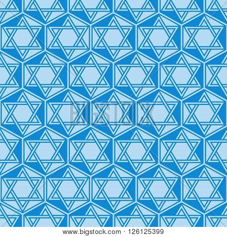 Abstract geometric seamless background - triangles tessellation. Vector illustration.