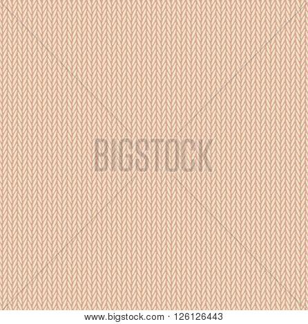 background seamless pattern texture of beige wool knitwear. vector illustration