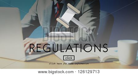 Regulations Compliance Condition Instruction Concept