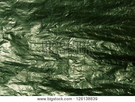 Green Plastic Bag Texture