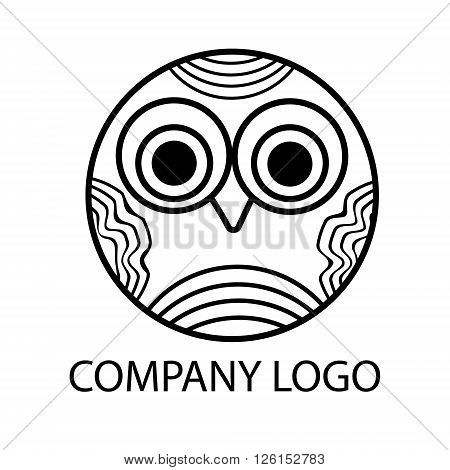 Little owl pretty logo