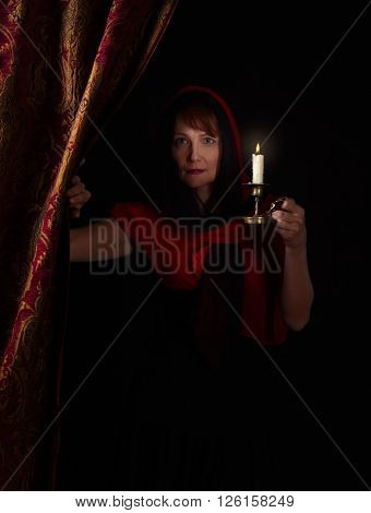 Woman With Candlestick