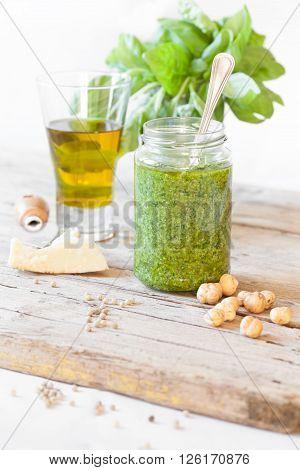 Pesto Jar