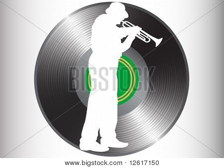 Trompete-Mann