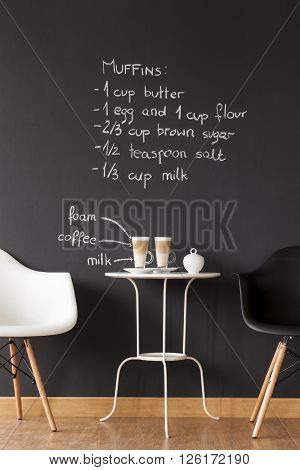 Creater A Cosy Café In Your Own Flat