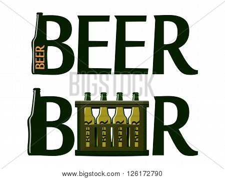 Logo With Case Of Beer