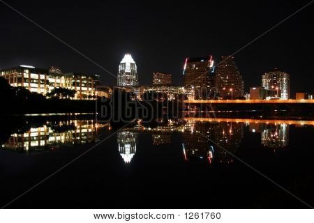 Austin Texas At Night