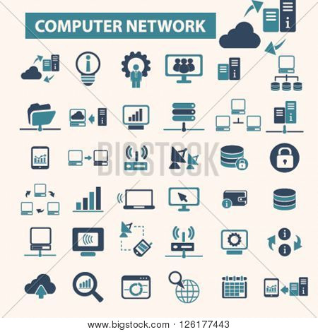 computer network icons