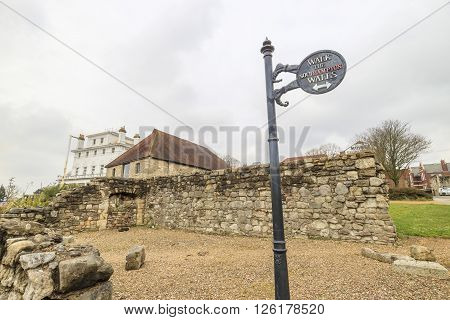 The Old Wall
