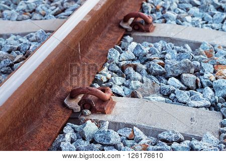 Railways system for diesel train platform, Transport