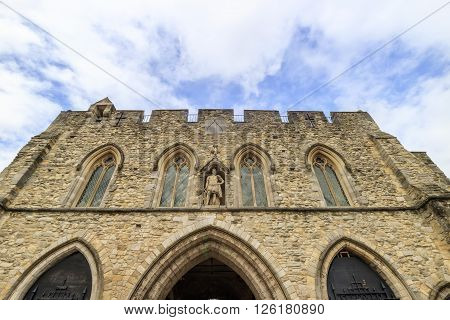The Famous Historical Building - Bargate