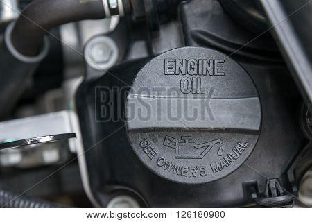 Fuel gas cap, transport,, round, rusty, auto, automobile, black,