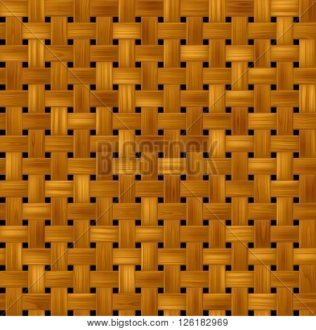 woody rattan wicker weave seamles pattern texture background