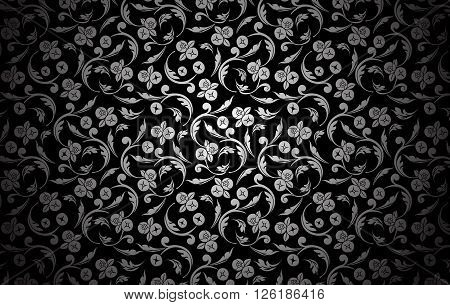 Thai traditional art. Thai Art Background Thai art pattern.vector illustration