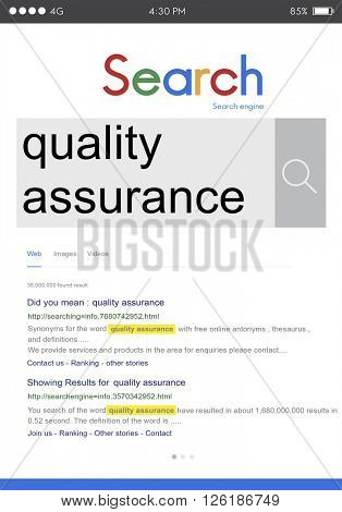Quality Assurance Business Customer Satisfaction Concept