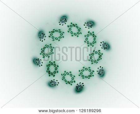Abstract Fractal Wreckage, Digital Artwork For Creative Graphic Design