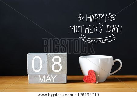 Mothers Day Message With Coffee Cup