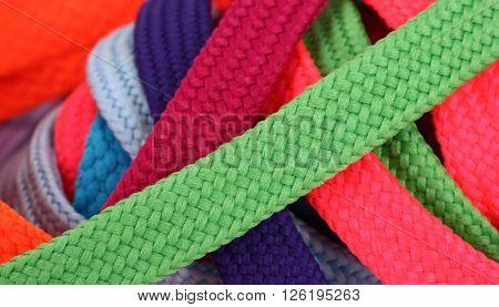 Colorful shoelaces shoe laces